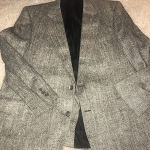 Vintage all silk Burberrys Blazer